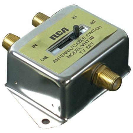 Rca Coaxial Tv (Rca Vh71r 2-way A/b Coaxial Cable Slide)