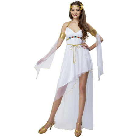 Greek Goddess Adult Halloween Dress Up / Role Play Costume - Greek Goddess Dress