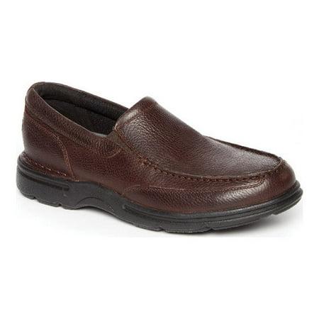 Men's Rockport Eureka Plus Slip-On Boys Black Patent Leather