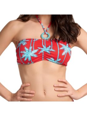 1fcb45f080f87 Product Image Freya Swim South Pacific Underwired Bandeau Bikini Top 3551  RED 34F