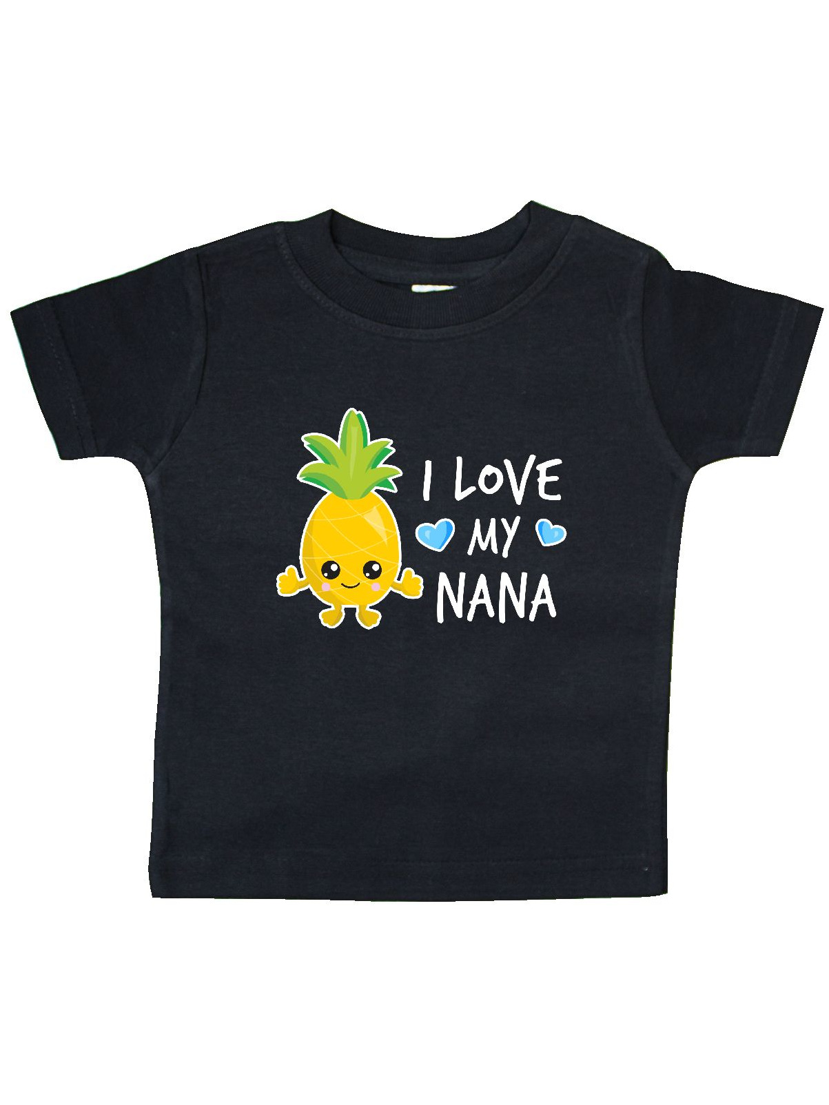 inktastic I Love My Nana with Pineapple Toddler T-Shirt