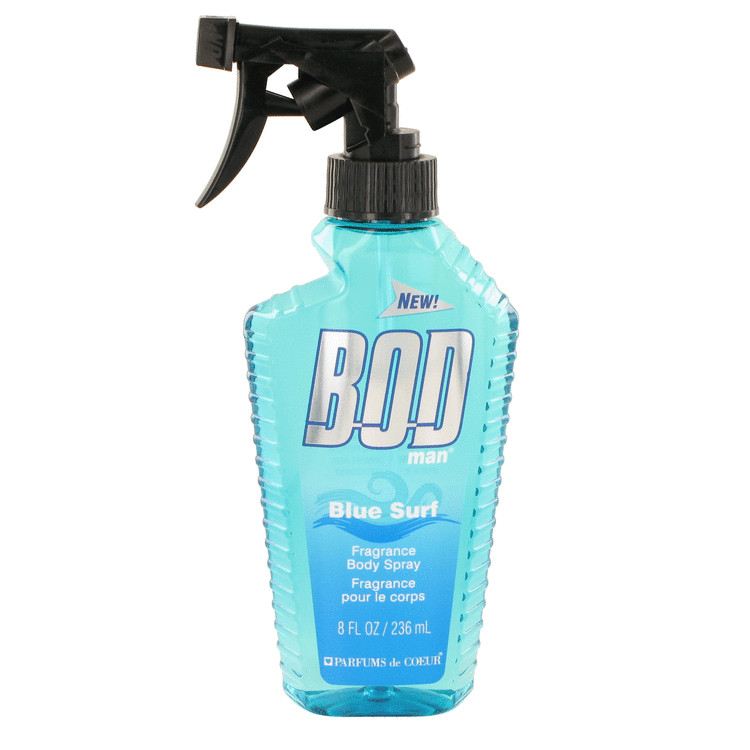 Parfums De Coeur Bod Man Blue Surf Body Spray for Men 8 oz