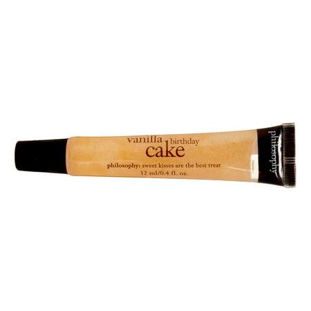 Philosophy Vanilla Birthday Cake Lip Shine 04 Oz