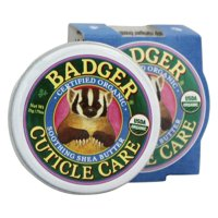 Badger - Cuticle Care Soothing Shea Butter - 0.75 oz. pack of 4