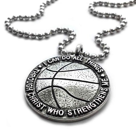 Syracuse Basketball Pendant (Basketball Necklace)