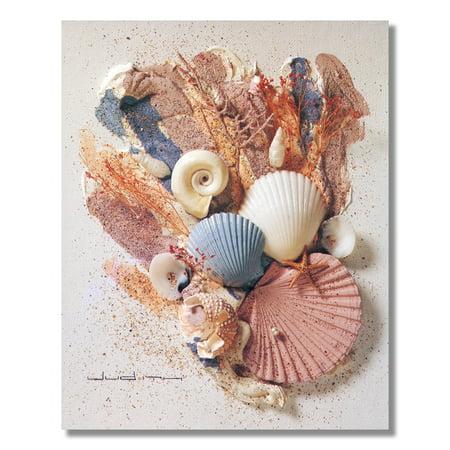 Ocean Starfish Sea Shell Beach Bathroom # 6 Wall Picture 8x10 Art Print Tiffany Sea Shell