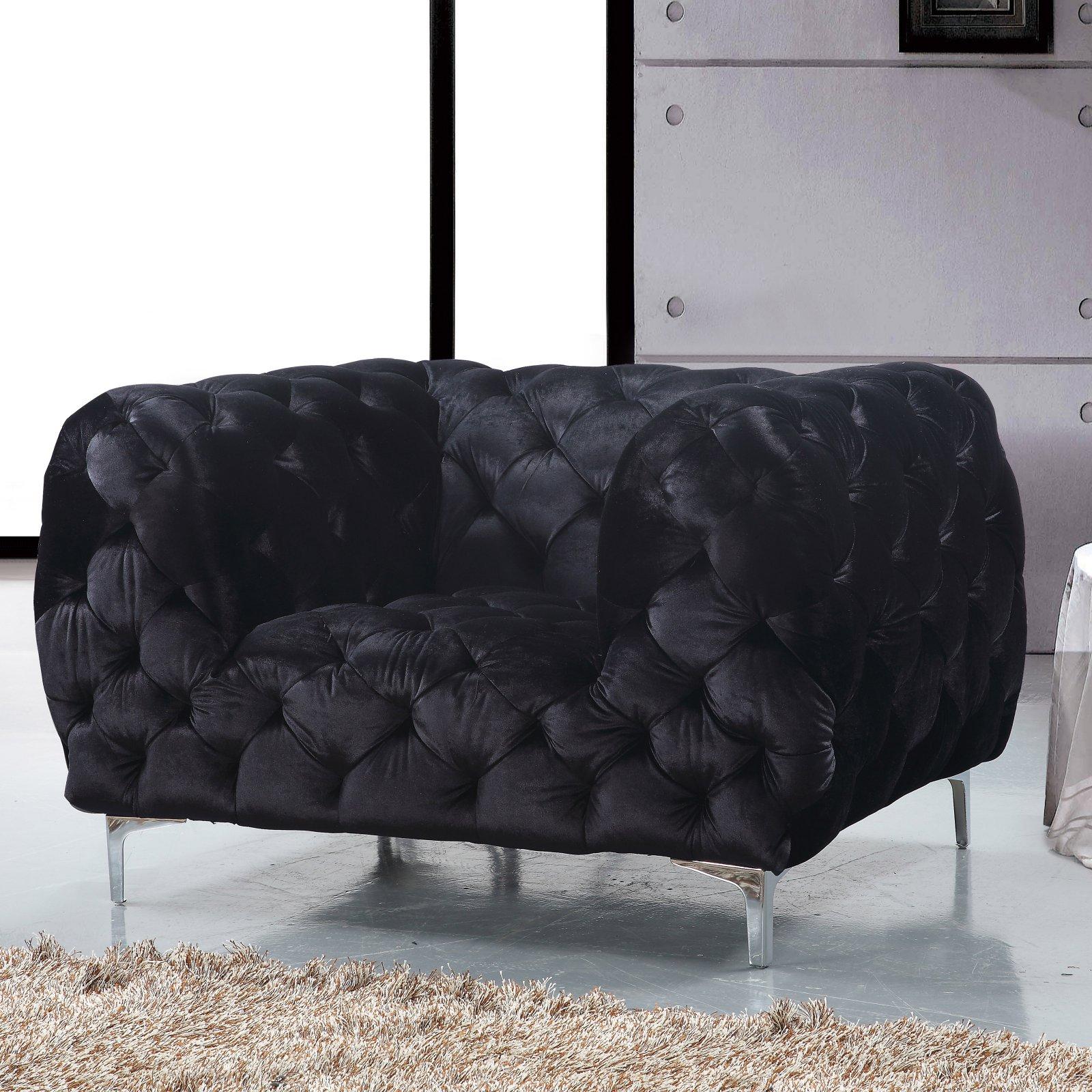Meridian Furniture Inc Mercer Club Chair