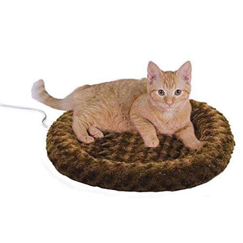 Thermo Kitty Fashion Splash Heated Cat Mat, Mocha, Warms ...