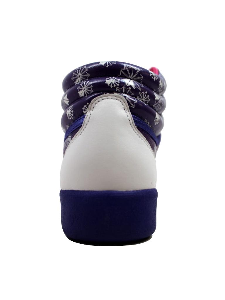 Reebok 32-181421 Women's F/S Hi Purple/White-Pink 32-181421 Reebok d2494e