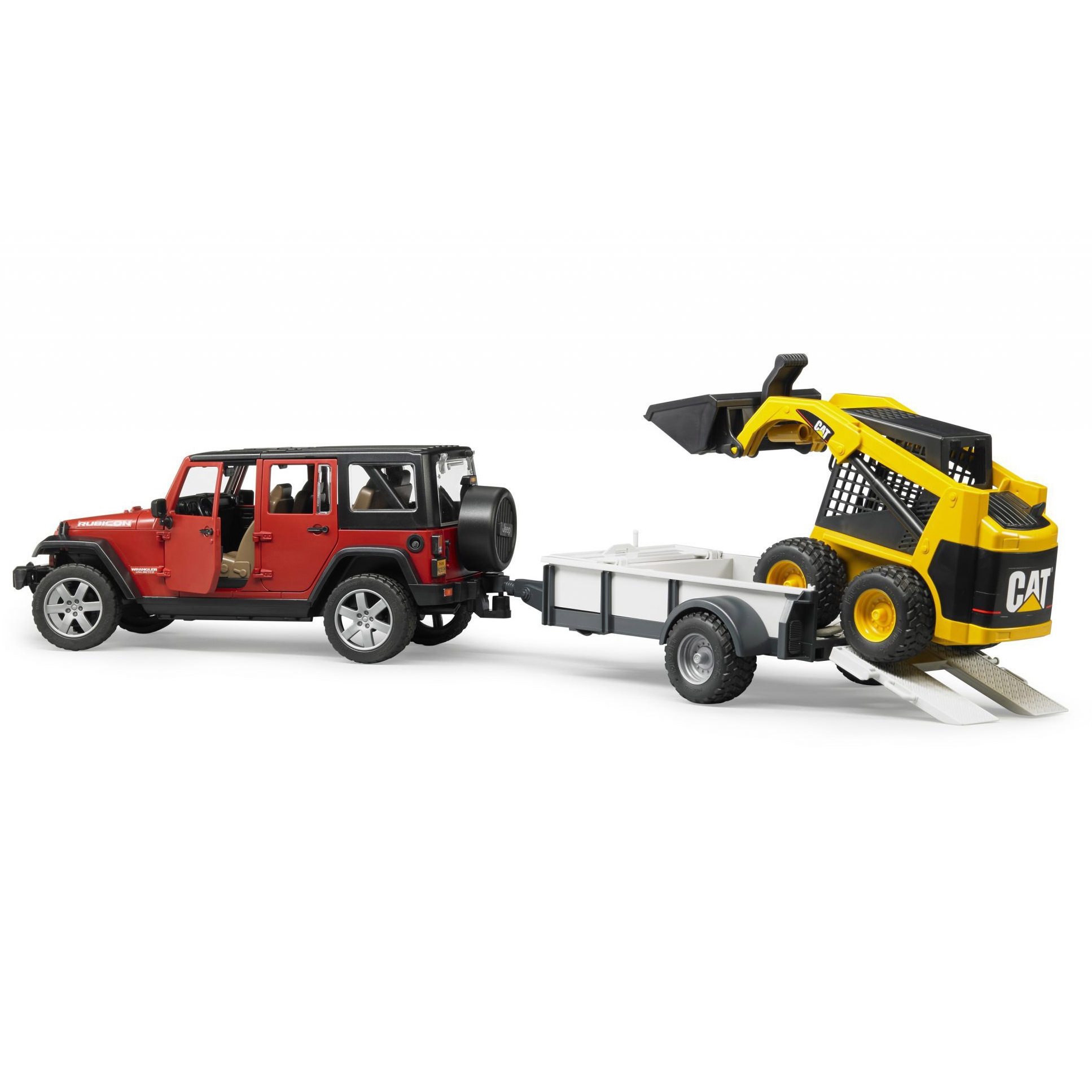 Jeep Wrangler Construction Bruder 02925 Unlimited Rubicon With Qty