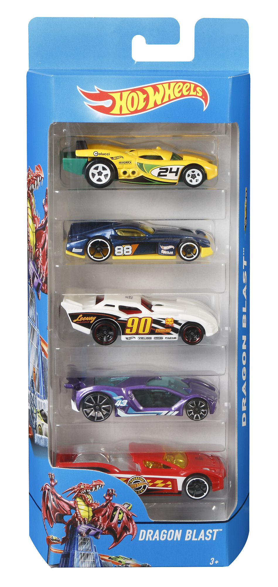 Hot Wheels 5-Car Gift Pack (Styles May Vary) by Mattel