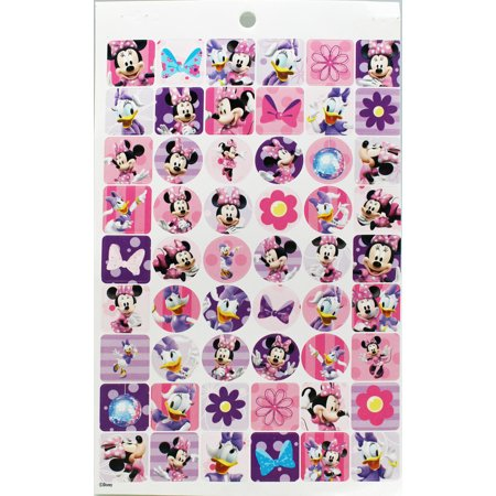Disney's Minnie Mouse and Daisy Duck Assorted Sticker Set (54 Stickers) ()