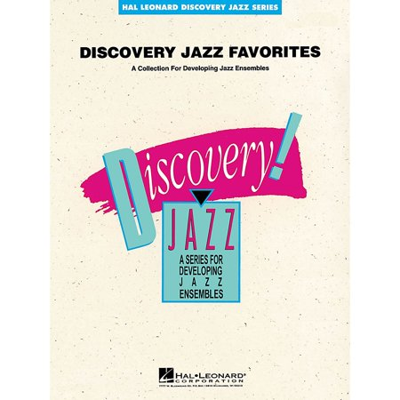Hal Leonard Discovery Jazz Favorites - Piano Jazz Band Level 1-2 Composed by (Eagle Group Panco Rack)