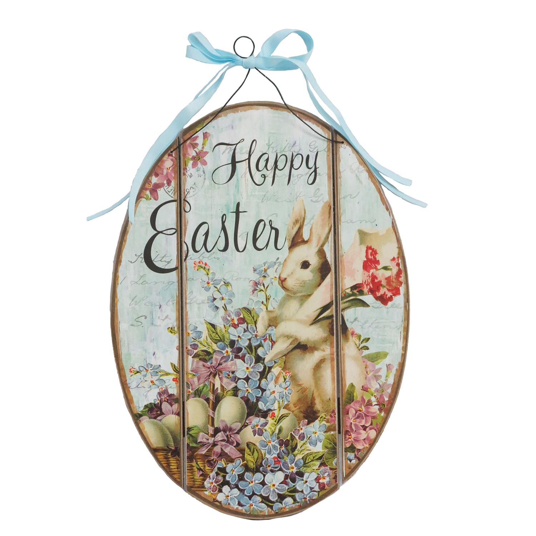 Easter Bunny Flower Egg Hng