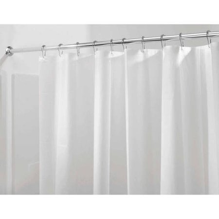 InterDesign Mildew-Free PEVA 3 Guage Shower Liner, Multiple