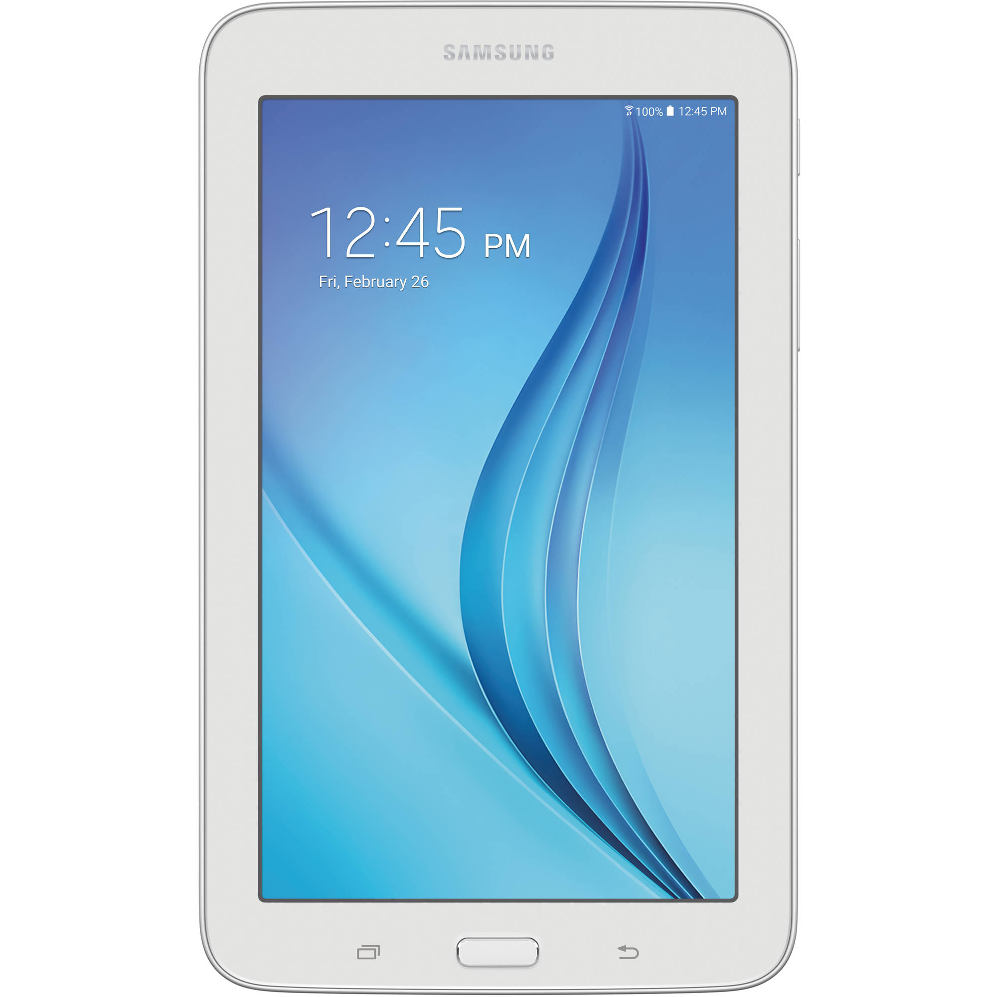 "Refurbished Samsung Galaxy Tab E Lite with WiFi 7.0"" Touchscreen Tablet PC Featuring Android 4.4 (KitKat) Operating System"