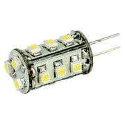 LUNASEA LIGHTING LUNASEA WHITE LED BULB G4 BOTTOM PIN 12V AC OR 10-30V DC LLB-21FW-61-00