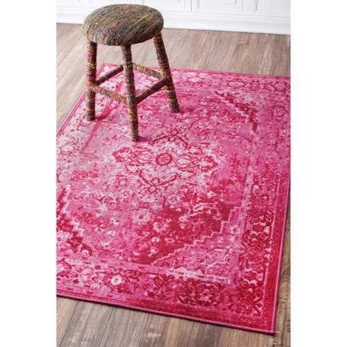 857c03775da5c0 nuLOOM Traditional Vintage Inspired Overdyed Fancy Multi Rug (8' x ...