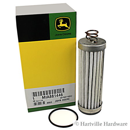 John Deere Original Equipment Filter Kit (John Deere 125 Lawn Tractor Oil Filter)