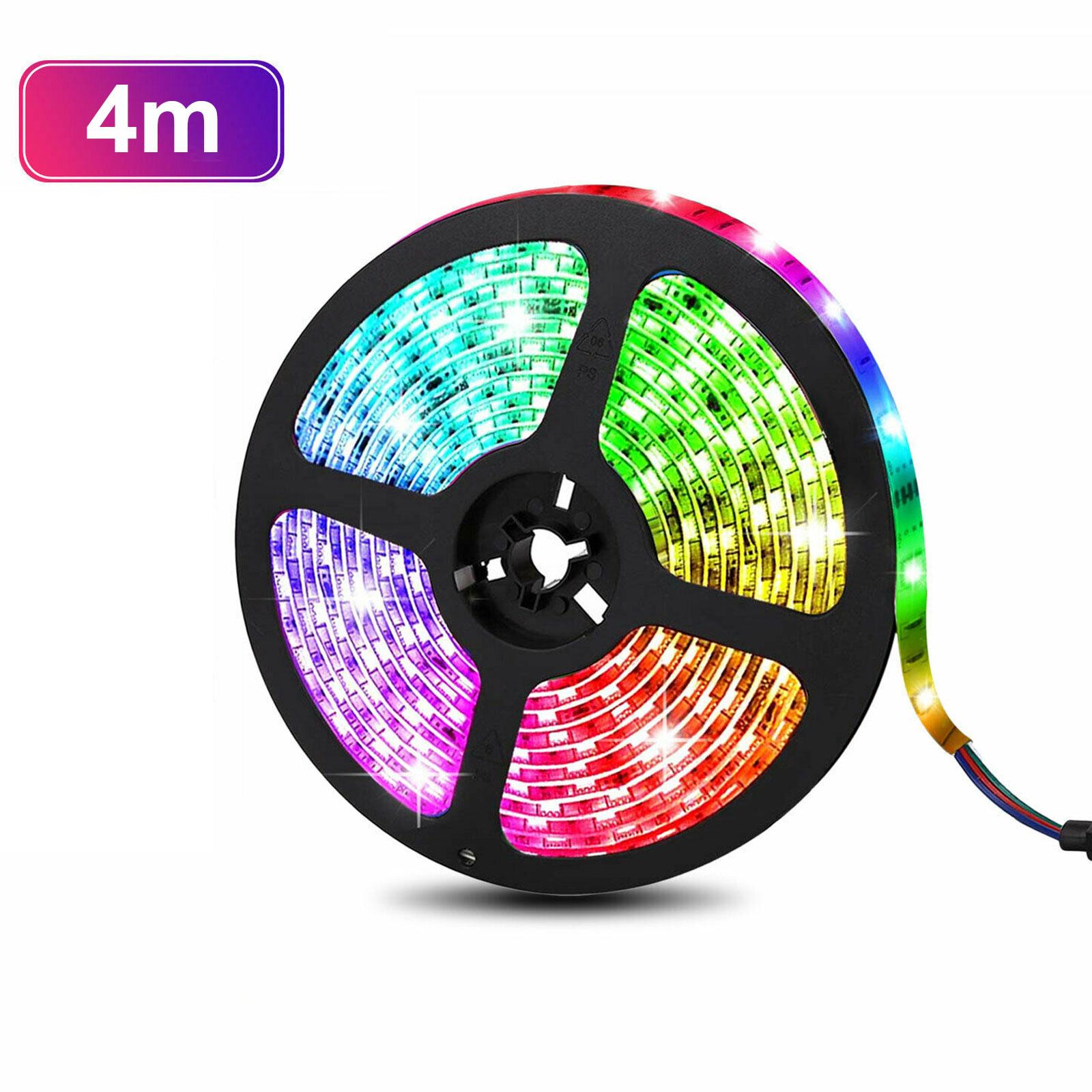 Battery Powered Led Strip Lights  Smd5050 20colors Rgb Led