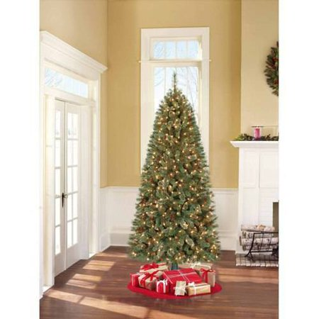 Holiday Time Christmas Tree.Holiday Time Pre Lit 7 Brookfield Fir Artificial Christmas Tree Clear Lights