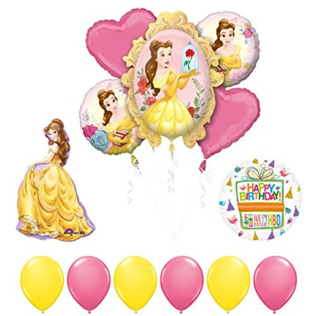 Beauty and The Beast Belle Birthday Party Balloon supplies decorations - Beauty And The Beast Party