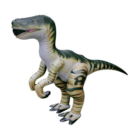 Jet Creations Inflatable Dinosaur, Velociraptor, 51