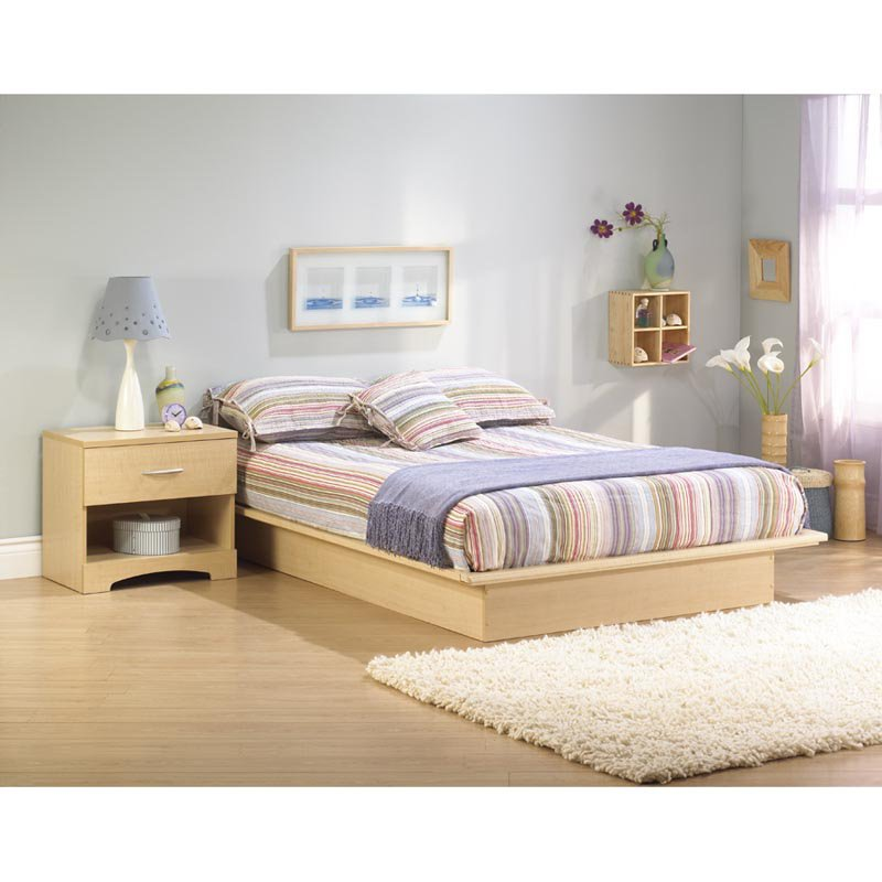 South Shore Studio Platform Bed Set