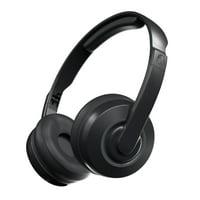 Skullcandy Cassette Wireless BT On-Ear Headphone with Mic in Black