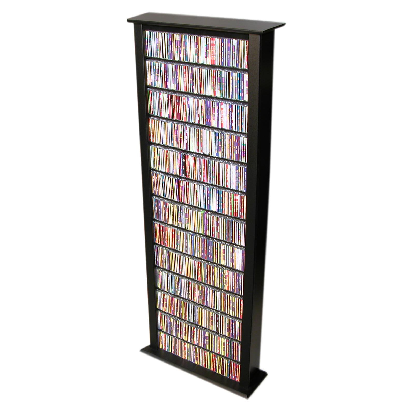 Venture Horizon Media Storage Tower-Tall Single