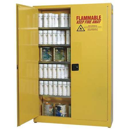 Aerosols Aerosols Cabinet,30 Gal.,Yellow