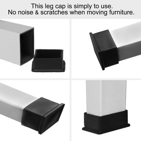 "Desk Table Leg Caps End Tip Home Furniture Protector 14pcs 1.18""x2.36"" (30x60mm) - image 3 de 7"