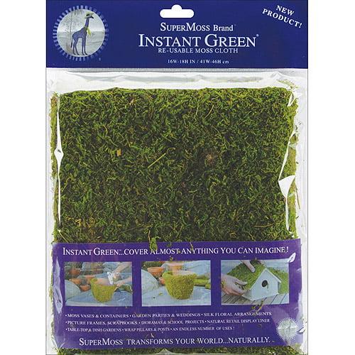 """Moss Mat 18""""X16""""-Green"""