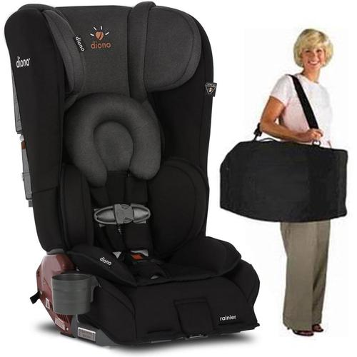Diono Rainier Convertible Car Seat with Carry Bag - Black...