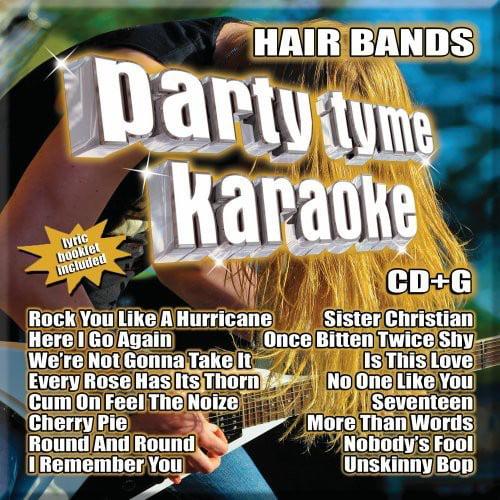 Party Tyme Karaoke: Hair Bands (CD)
