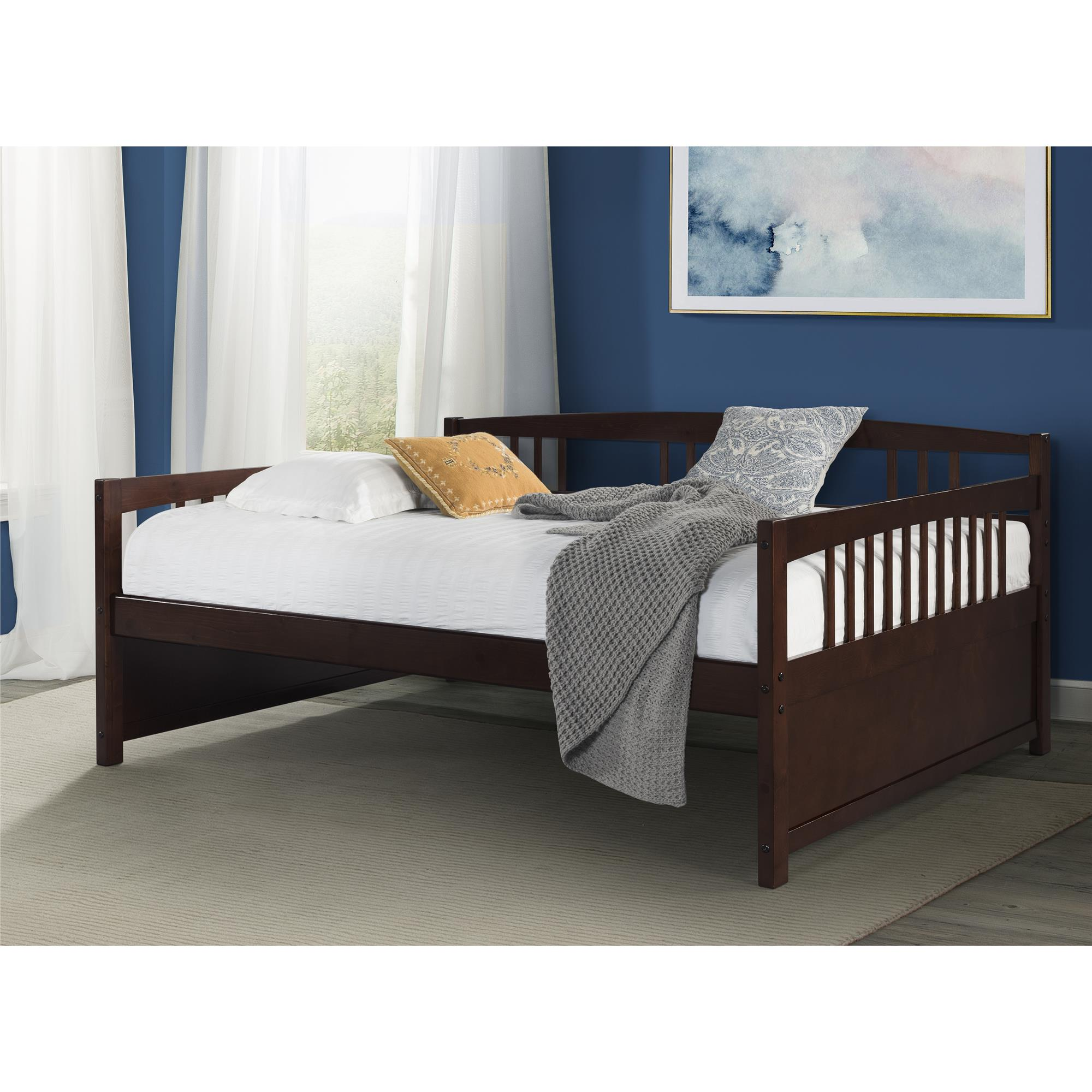 Dorel Living Morgan Full Day Bed, Espresso by Dorel Asia