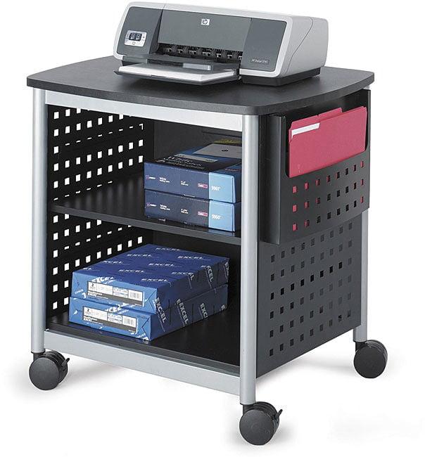 Safco Scoot Desk Mobile Printer Stand Walmart Com