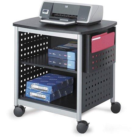 safco scoot desk mobile printer stand. Black Bedroom Furniture Sets. Home Design Ideas