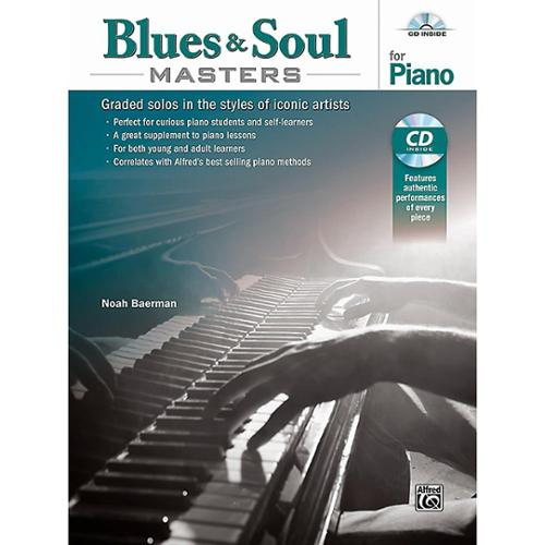 Alfred Blues & Soul Masters for Piano -Book & CD