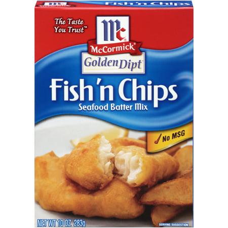 (4 Pack) McCormick Golden Dipt Fish 'n Chips Seafood Batter Mix, 10 - Seafood Pasta Bake