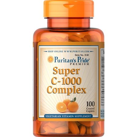Puritans Pride C 1000 Complex 100 Coated Caplets  We Are The Manufacturer And The Only Authorized Seller Of This Product  By Puritans Pride