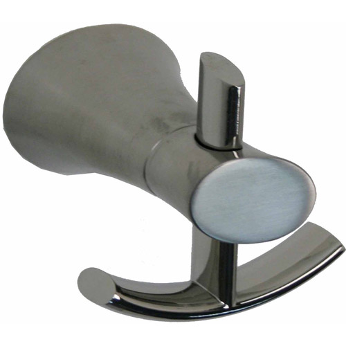 Ultra Faucets UFA51013 Brushed Nickel Contemporary Robe Hook