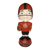 Super Bowl 51 Vintage Bobblehead Super Bowl 51 of Only 144 Bobblehead NFL