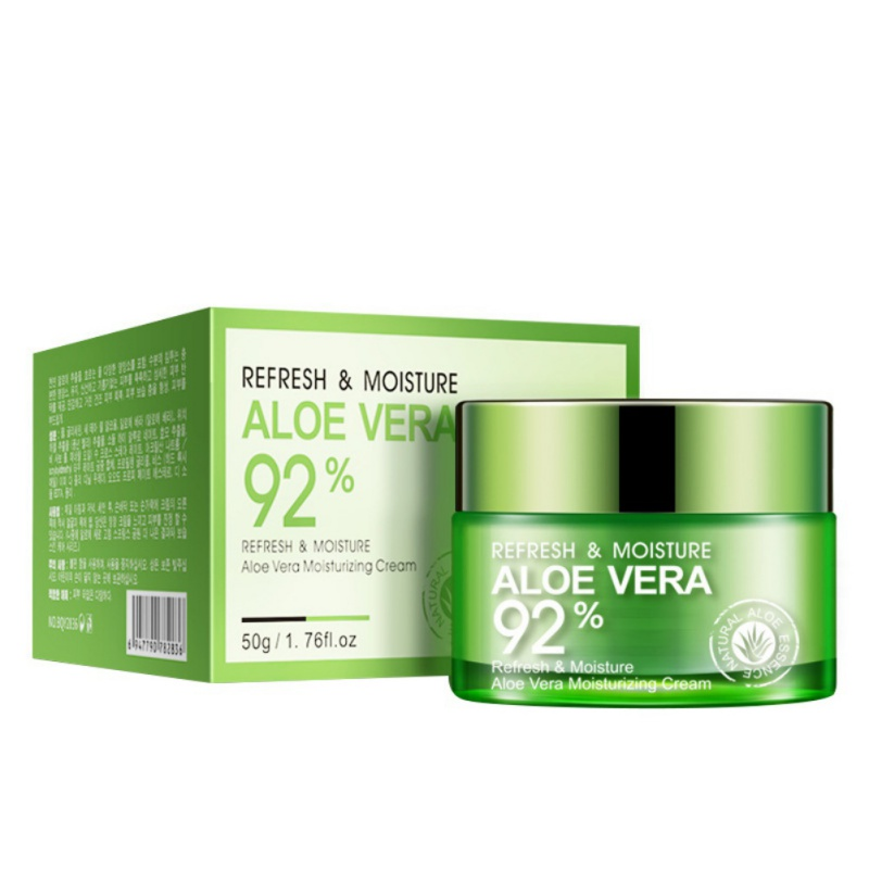 Moisturizing Oil Control Clearing Shrink Pore Aloe Repair Cream