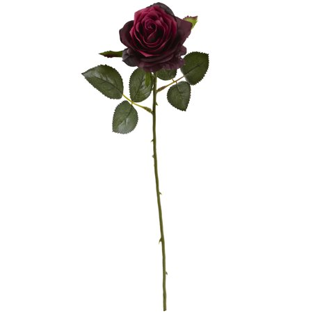 "Nearly Natural 18"" Rose Artificial Flower (Set of -"