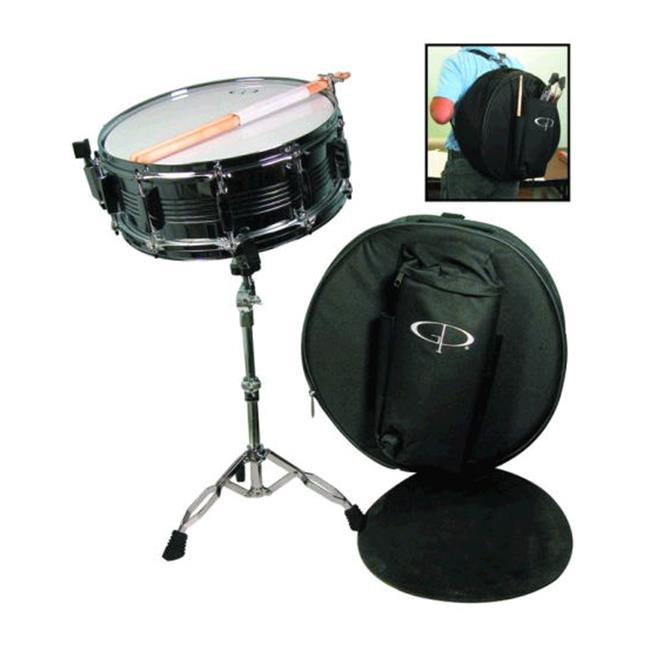 Gp 10 Lug Snare Drum Pkg Bag Pad Std Stx - SK22