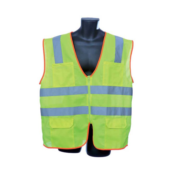Class II Lime Green Vest. Size: 4X-Large Lot of 1 Pack(s) of 1 Unit