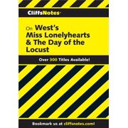 CliffsNotes on West's Miss Lonelyhearts & The Day of The Locust - eBook