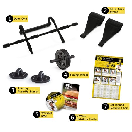 Gold's Gym 7-in-1 Body Building System with Professional Workout (Golds Gym Gr7000 Pro Series Home Gym)