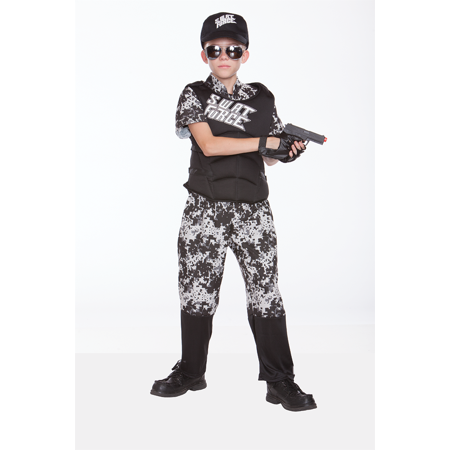 Halloween Wholesalers S.W.A.T. Force Kids Costume - Kids Swat Costumes
